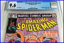 AMAZING SPIDER-MAN #238 CGC 9.6 1ST HOBGOBLIN With TATTOOZ NEWSSTAND EDITION