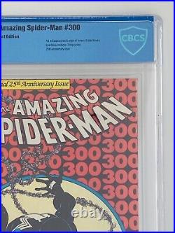AMAZING SPIDER-MAN #300 CBCS 9.6 NM+ White Pages Not CGC 1st Full VENOM