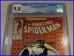AMAZING SPIDER-MAN 300 CGC 9.8 NM/MT 5/88 Todd McFarlane 1ST APP ORIGIN OF VENOM