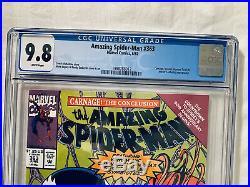 AMAZING SPIDER-MAN #361 362 363 x3 Lot CGC 9.8 1st + 2nd CARNAGE NM/MT