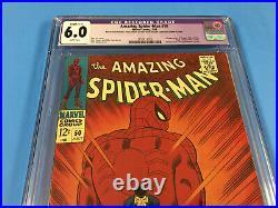 AMAZING SPIDER-MAN # 50 CGC 6.0 Restored 1st KINGPIN GORGEOUS KEY
