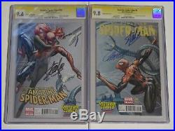 AMAZING SPIDERMAN 700 SUPERIOR SPIDERMAN 1 CGC Midtown SIGNED Stan Lee Campbell