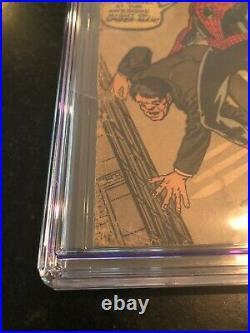 Amazing Fantasy #15 (1962) Cgc 1.5 Ow 1st Spider-man! New Movie Opens Dec. 17