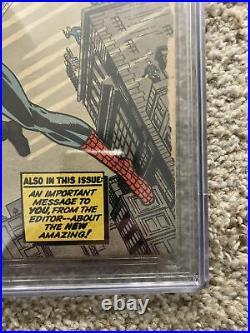 Amazing Fantasy 15 CGC 3 1962 1st App Spiderman
