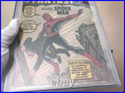 Amazing Fantasy #15 CGC 3.5 1st Spider-Man! Silver Age Grail! Off-White Pages