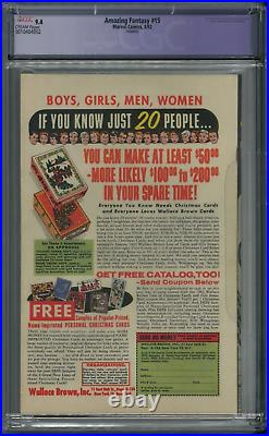 Amazing Fantasy 15 Cgc 9.4 Nm Super High Grade Spider-man Origin 1962