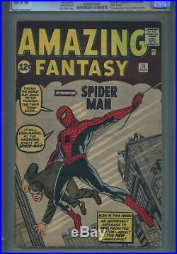 Amazing Fantasy #15 Marvel Comics, 8/62 Cgc 8 1st Appearance Of Spider-man