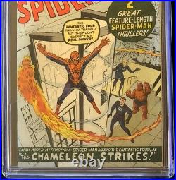 Amazing Spider-Man #1 (1963) CGC 7.0 Restored Mega-Key! Marvel Comic