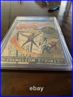 Amazing Spider-Man #1 CGC 1.5 MEGA GRAIL 1963 key issue Dont Miss Out
