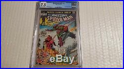Amazing Spider-Man 122 CGC 7.5 Rare KEY DEATH OF GREEN GOBLIN