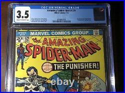Amazing Spider-Man #129 (1974) 1st Punisher! CGC 3.5 Key