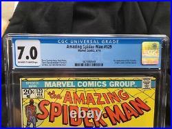 Amazing Spider-Man #129 CGC 7.0 1974 Punisher and Jackal 1st app New Slab