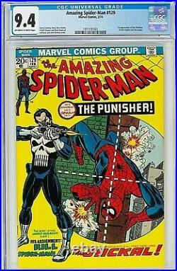Amazing Spider-Man #129 CGC 9.4 1st Punisher