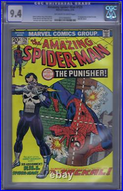 Amazing Spider-Man #129 Marvel 1974 1st Appearance Punisher, CGC 9.4 (NEAR MINT)