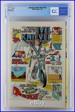 Amazing Spider-Man #129 -NEAR MINT- CGC 9.2 NM- Marvel 1974 1st App Punisher