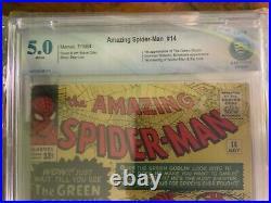 Amazing Spider-Man #14 1st Green Goblin, CBCS 5.0 not CGC