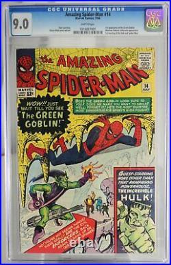 Amazing Spider-Man #14 CGC 9.0 1st app of the Green Goblin