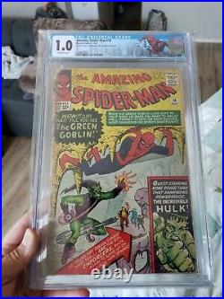 Amazing Spider-Man #14 CGC Green Goblin Mylar Skyline Label No chunks