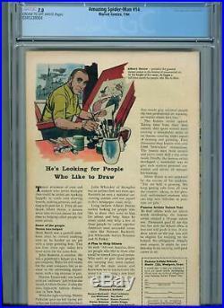 Amazing Spider-Man #14 (Jul 1964, Marvel) CGC 7.0 -1st App. Of the Green Goblin