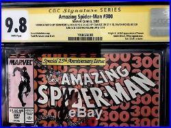 Amazing Spider-Man (1st Series) #300 1988 CGC 9.8 SS 4X Plus Romita Sketch (ASM)