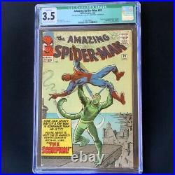 Amazing Spider-Man #20 (1965) CGC 3.5 Qualified 1st App of SCORPION! Comic