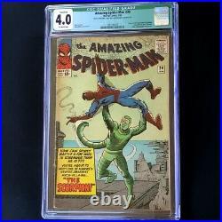 Amazing Spider-Man #20 (1965) CGC 4.0 Qualified 1st App of SCORPION! Comic