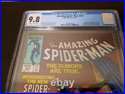 Amazing Spider-Man 252 CGC 9.8 Newsstand 1st black costume in series