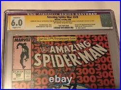 Amazing Spider-Man #300 CGC 6.0 SS Signed by Stan Lee & Todd McFarlane 1st Venom