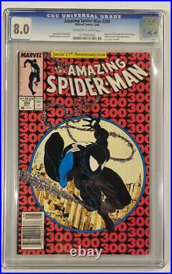 Amazing Spider-Man #300 (CGC 8.0, Origin & 1st full appearance of Venom!)