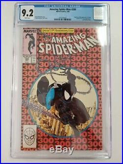 Amazing Spider-Man #300 CGC 9.2 White Pages McFarlane Art Origin of Venom