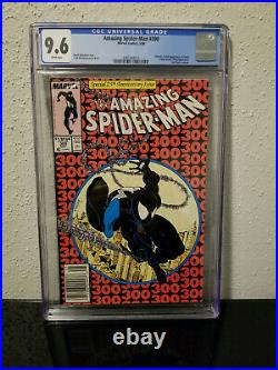 Amazing Spider-Man # 300 CGC 9.6 NEWSSTAND! HTF! 1st App Venom