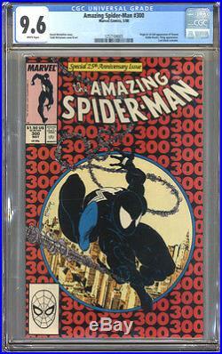 Amazing Spider-Man #300 CGC 9.6 NM+ WHITE Pages Universal CGC #1257104005