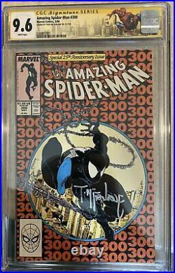 Amazing Spider-Man 300 CGC 9.6 Signed By Todd McFarlane 1st VENOM
