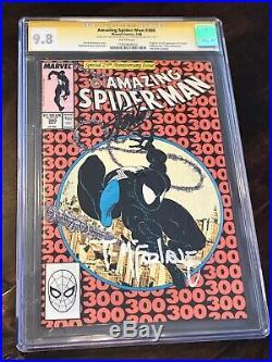 Amazing Spider-Man 300 CGC 9.8 SS signed Stan Lee / Todd McFarlane