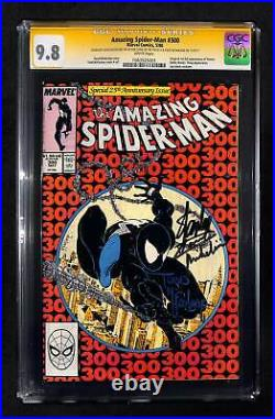 Amazing Spider-Man #300 CGC 9.8 Signed by Stan Lee McFarlane & Michelinie TRIPLE