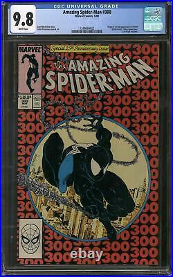 Amazing Spider-Man #300 CGC 9.8 (W) Origin & 1st Appearance of Venom