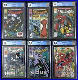 Amazing Spider-Man 302-316-325 328 CGC 9.8 Spider-Man 1-13 14 16 Mcfarlane SET