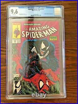 Amazing Spider-Man # 316 CGC 9.6 Todd Mcfarlane Iconic Cover & Art