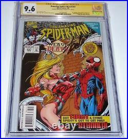 Amazing Spider-Man #397 CGC SS Signature Autograph STAN LEE Dr. Octopus & Kaine