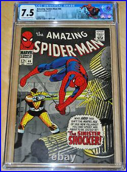 Amazing Spider-Man #46 CGC 7.5 (1st App of the Shocker) OFF-WHITE to WHITE PAGES