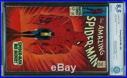 Amazing Spider-Man #50 CBCS 8.5 1967 1st Kingpin! WHITE pages! Like CGC! E12 cm