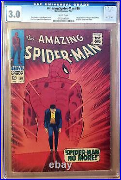 Amazing Spider-Man #50 CGC 3.0 (1967) 1st appearance Kingpin Key