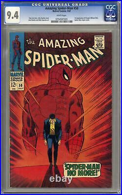 Amazing Spider-Man #50 CGC 9.4 (W) 1st Appearance of the Kingpin Wilson Fisk