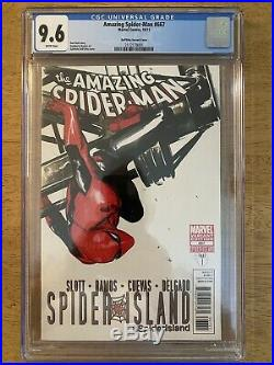 Amazing Spider-Man #667 CGC 9.6 Dell'Otto Variant
