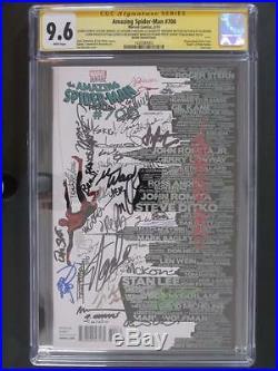 Amazing Spider-Man #700 CGC 9.6 NM+ Marvel (Martin Variant) 45 Signatures