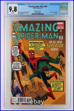 Amazing Spider-Man #700 CGC 9.8 NM/MT -Marvel 2013- Last Issue! Ditko Variant