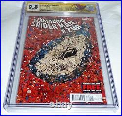 Amazing Spider-Man #700 CGC SS 9.8 Dual Signature Autograph STAN LEE & RAMOS