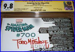 Amazing Spider-Man 700 CGC SS 9.8 SIGNED Stan Lee Todd McFarlane Skyline Variant