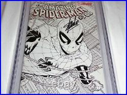 Amazing Spider-Man #700 Sketch Variant CGC SS Signature Autograph STAN LEE Death