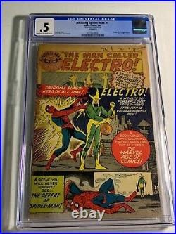 Amazing Spider-Man #9 CGC. 5 1964 1st Elecro